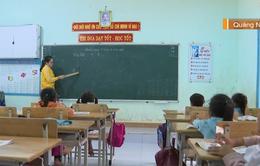 """20/11 của giáo viên vùng sạt lở: """"Học sinh đến trường là niềm vui lớn, hơn cả những món quà"""""""