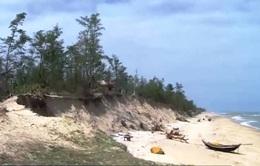 Sạt lở hơn 30km bờ biển ở Thừa Thiên - Huế