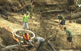 Bổ sung lực lượng tìm kiếm nạn nhân mất tích tại xã Trà Leng