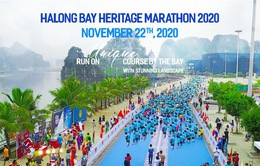 Giải Marathon Quốc tế Di sản Vịnh Hạ Long 2020 được trực tiếp trên ứng dụng VTV Sports