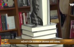 Hồi ký của Barack Obama đắt hàng
