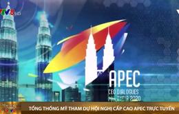 Tổng thống Mỹ Donald Trump thông báo tham dự Hội nghị Cấp cao APEC trực tuyến
