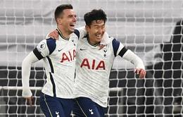 Tottenham 2-0 Manchester City: Son Heung-min ghi bàn, Gà Trống hạ gục Man City