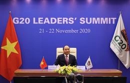 Thủ tướng kêu gọi G20 hỗ trợ ứng phó biến đổi khí hậu