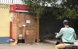 Truy bắt kẻ bịt mặt, đập vỡ trụ ATM trộm tiền