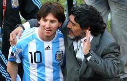"""Lionel Messi tiếc thương: """"Diego Maradona là bất tử"""""""
