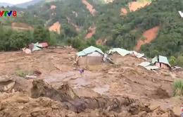 Quảng Nam tiếp cận vùng bị sạt lở đất, lũ ống cô lập