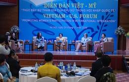 Thúc đẩy sự tham gia của phụ nữ trong hội nhập quốc tế