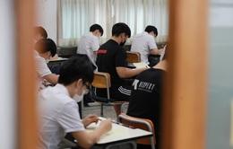 """Hàn Quốc kêu gọi người dân """"tạm ngưng"""" tụ tập trước kỳ thi đại học"""