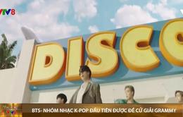 BTS- Nhóm nhạc K-Pop đầu tiên được đề cử giải Grammy