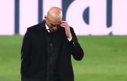 Zidane: 'Tôi không biết phải giải thích thế nào cho sự thất thường của Real Madrid'