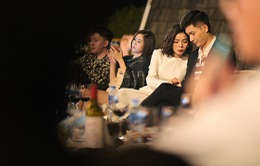 """""""Bạn trai tin đồn"""" hộ tống Lệ Quyên biểu diễn tại Hà Nội"""