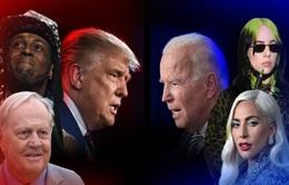 Sao Mỹ đồng loạt công khai ủng hộ Joe Biden