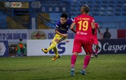 ẢNH: Quang Hải tỏa sáng, CLB Hà Nội loại CLB Sài Gòn khỏi cuộc đua vô địch