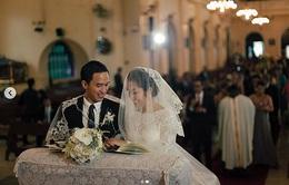 Kỷ niệm 8 năm ngày cưới, Tăng Thanh Hà khoe ảnh cưới đẹp lung linh