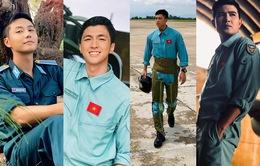 """4 trai đẹp """"cực phẩm"""" làm phi công trong phim Tết trên VTV?"""