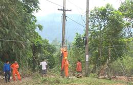 Quảng Trị cấp điện trở lại cho những vùng bị cô lập nhiều ngày