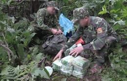 Truy bắt nhóm đối tượng bỏ lại 100 kg ma túy đá