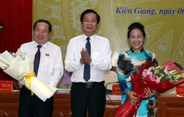 Kiên Giang có tân Chủ tịch HĐND và Chủ tịch UBND