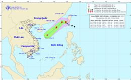 Bão Atsani đi vào Biển Đông trở thành cơn bão số 11