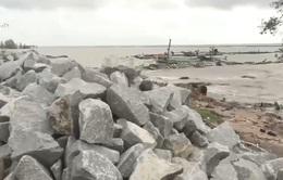 Đê biển Tây sạt lở nghiêm trọng trong mùa mưa bão