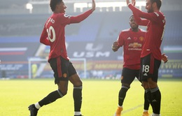 Kết quả Everton 1-3 Man Utd: Bruno Fernandes toả sáng, Cavani lập công, Man Utd thắng ấn tượng