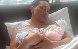 Lộ diện cặp sinh đôi của Hồ Ngọc Hà - Kim Lý