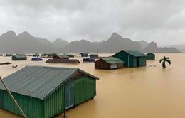 2 người chết, 1 người mất tích, 5 người bị thương do mưa lũ ở miền Trung