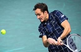 Daniil Medvedev lần đầu vào chung kết Paris Masters