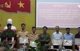 Quảng Bình trao thưởng, tặng bằng khen về cứu nạn cứu hộ
