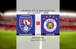 VIDEO Highlights: Than Quảng Ninh 0-4 CLB Hà Nội (Vòng 7 Giải đoạn 2 LS V.League 1-2020)