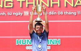 Lý Hoàng Nam giành cú ăn 3 vô địch quần vợt quốc gia