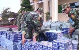Thu giữ gần 50.000 gói thuốc lá lậu từ Campuchia vào Việt Nam
