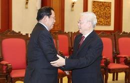 Lãnh đạo Việt Nam chúc mừng 67 năm Quốc khánh Campuchia
