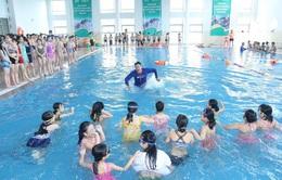 Lễ phát động toàn dân tập luyện môn bơi, phòng chống đuối nước