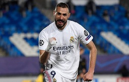 Real Madrid 2-0 M'gladbach: Cú đúp của Benzema