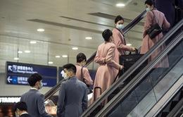 Trung Quốc khuyến cáo tiếp viên hàng không bổ sung biện pháp bảo hộ để phòng ngừa COVID-19