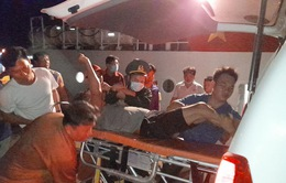 Cứu kịp thời 4 thuyền viên bị ngạt khí hầm cá