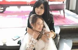 Thanh Lam tiết lộ ảnh cưới của con gái Thiện Thanh