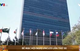 Bế mạc hội nghị Liên Hợp Quốc về luật biển UNCLOS lần thứ 30