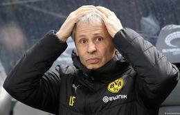 Dortmund sa thải HLV Lucien Favre