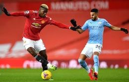 Kết quả Man United 0-0 Man City: Derby bất phân thắng bại! (Vòng 12 Ngoại hạng Anh)