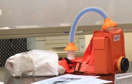 Mũ thở khí tươi ngăn virus Sars-CoV-2