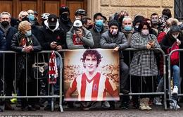 Đám tang của huyền thoại bóng đá Italia - Paolo Rossi đã được tổ chức