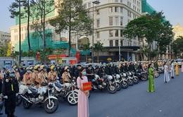 Công an Thành phố Hồ Chí Minh tổ chức ra quân trấn áp tội phạm dịp cận Tết