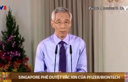 Singapore phê duyệt vắc xin của Pfizer/Biontech