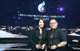 BTV Kim Oanh hạnh phúc khi giành được hai giải Vàng tại Liên hoan Truyền hình toàn quốc lần thứ 40