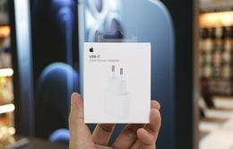 Củ sạc 20W của Apple giá gần 1 triệu đồng