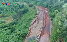 Đắk Nông: Hàng loạt công trình hư hỏng nặng sau lũ