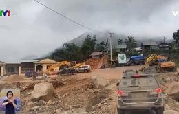 Phải mất nhiều năm mới có thể khôi phục 50km đường bị sạt lở ở Quảng Nam